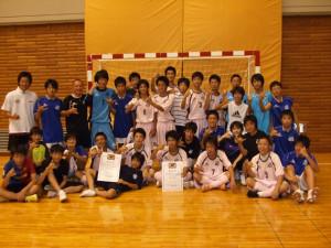 JY 2010全日本ユース(U-15)フットサル 福島県大会優勝